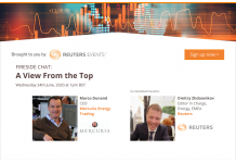Reuters Events Host Interview with Mercuria's CEO on...